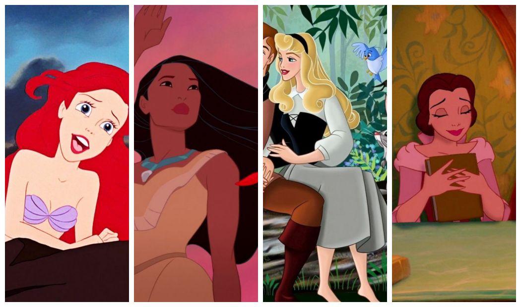 Księżniczki Disneya jako blogerki w social mediach